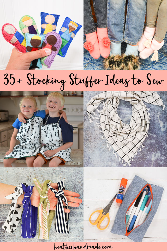 40 Stocking Stuffer Ideas to Sew