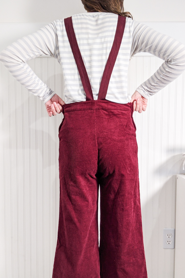 how to take in waist of pants
