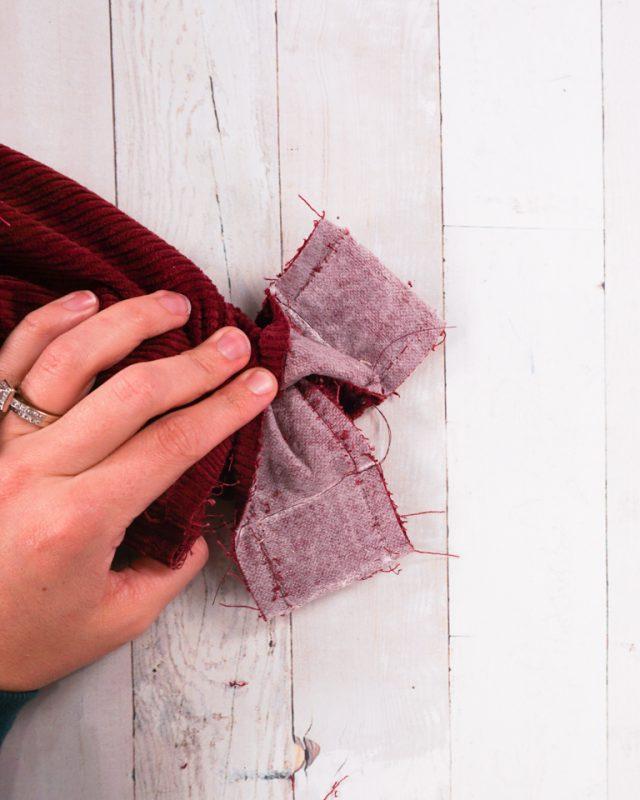sew both seams