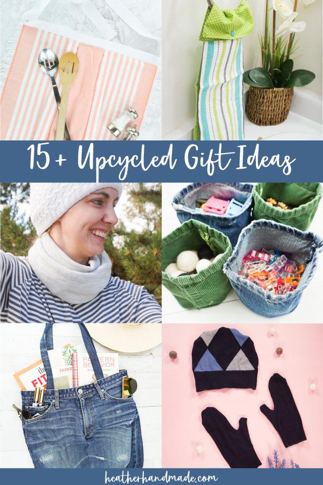 20 Upcycled Gift Ideas
