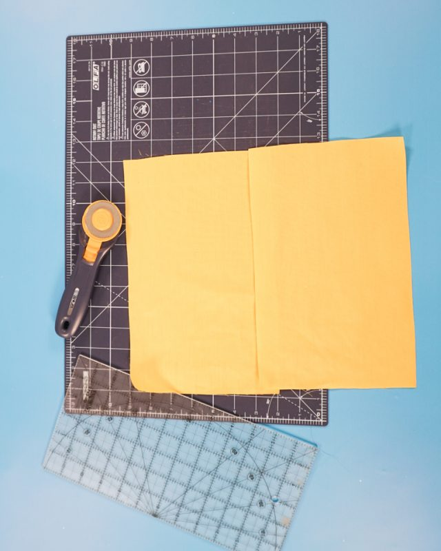 cut out lining fabric