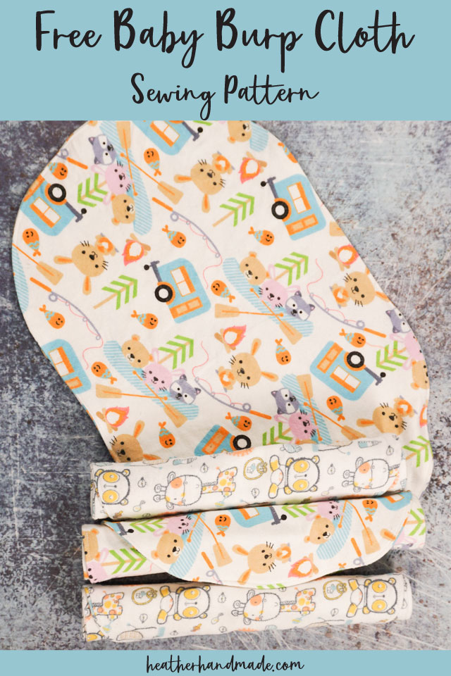 Free Baby Burp Cloth Pattern