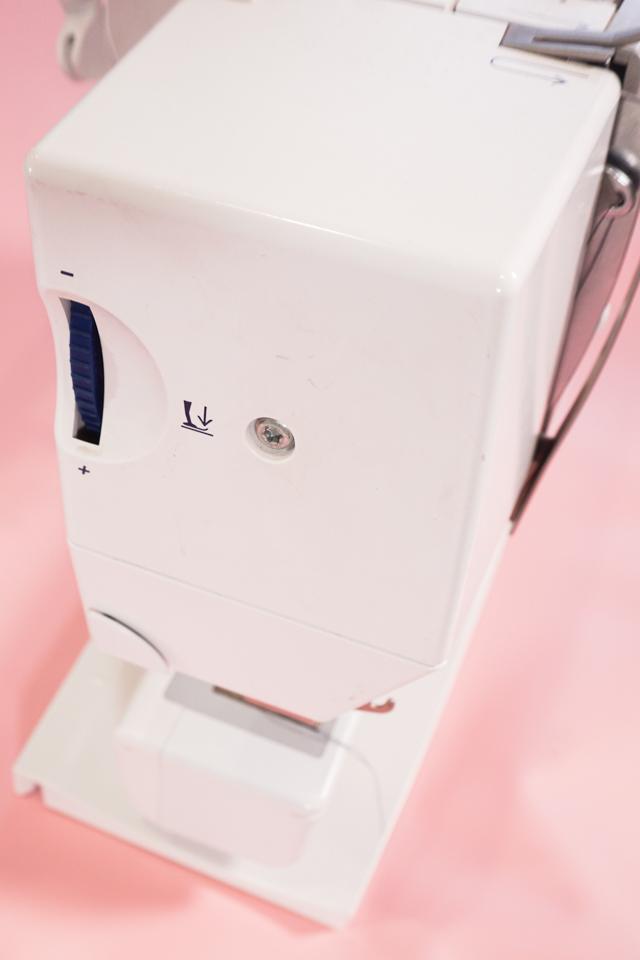 sewing machine foot pressure