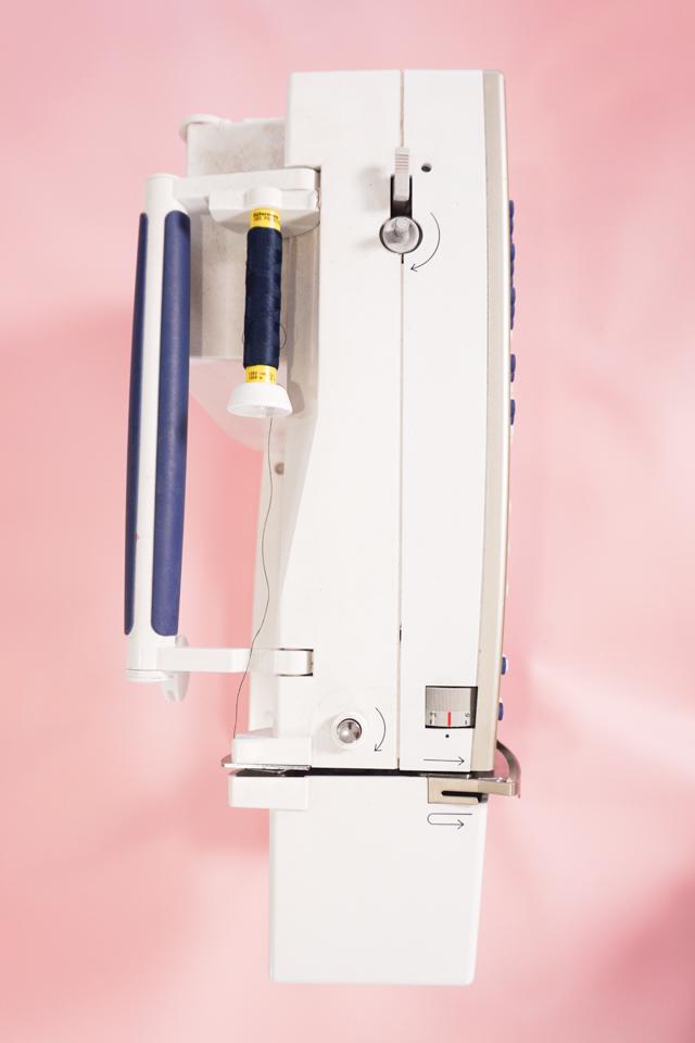 top of bernina sewing machine