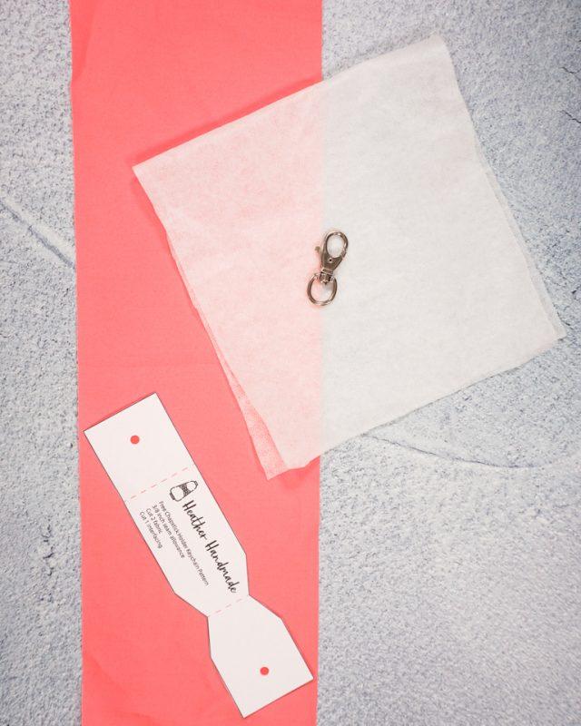 free chapstick holder keychain pattern supplies