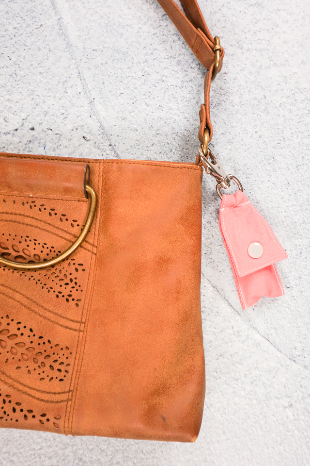 chapstick holder on purse
