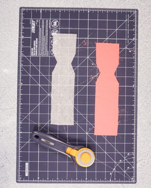 cut out interfacing