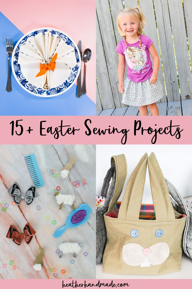 20 Easter Sewing Projects