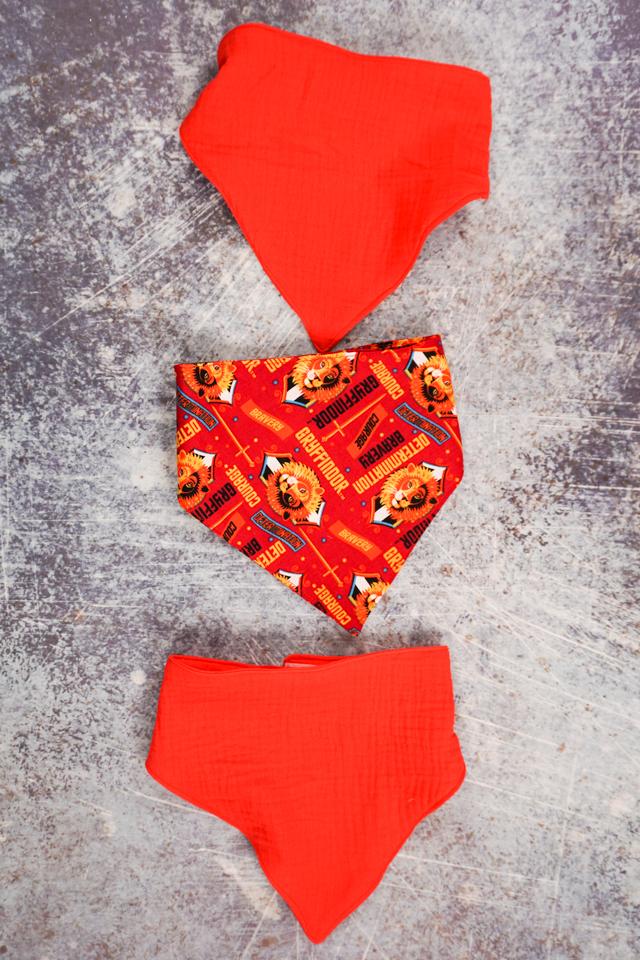 free baby bandana bib sewing pattern