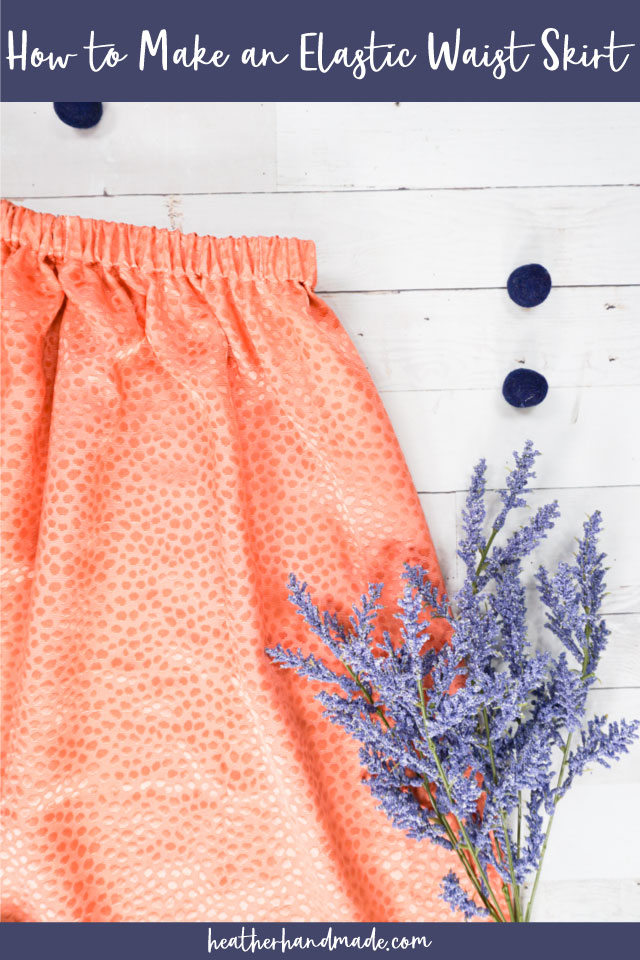 How to Make an Elastic Waist Skirt