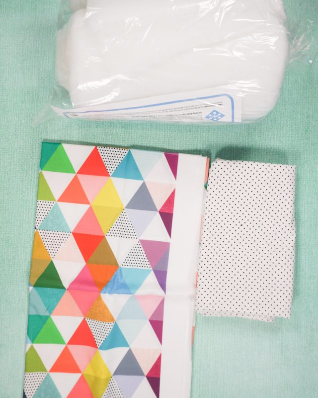 baby cheater quilt supplies