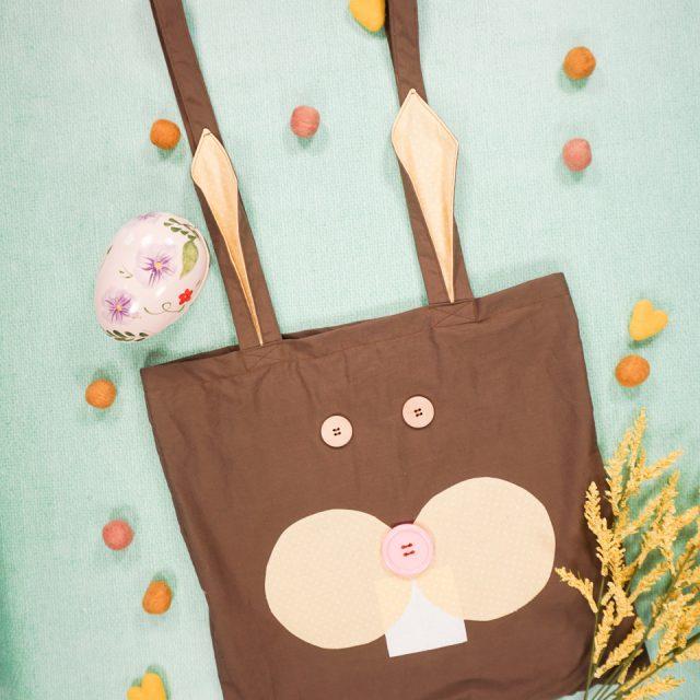 DIY Bunny Tote Bag