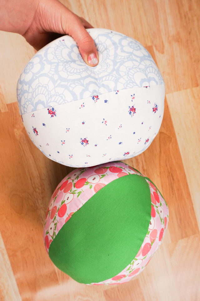 large fabric ball