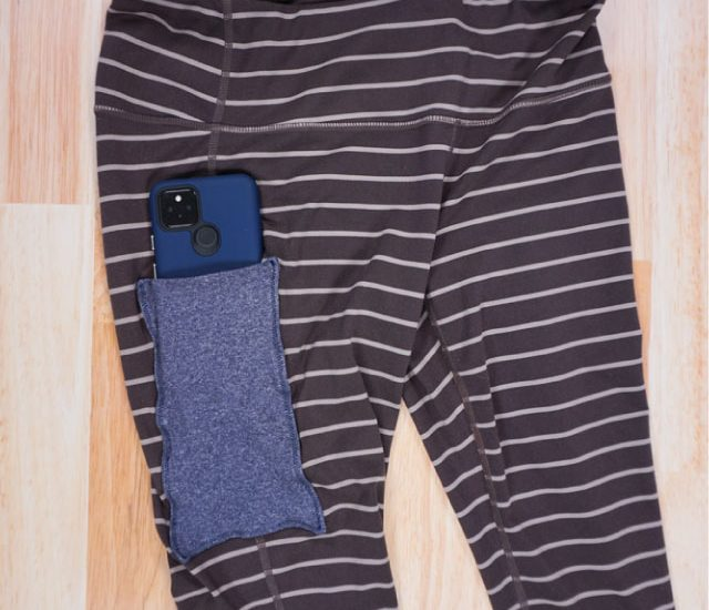 how to add a pocket to leggings