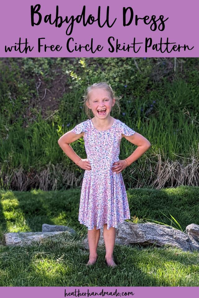 Babydoll Dress with Circle Skirt Hack
