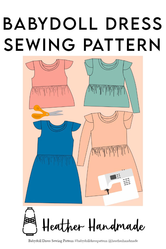 Babydoll Dress and Top Pattern