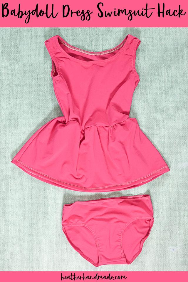 Babydoll Dress Swimsuit Hack
