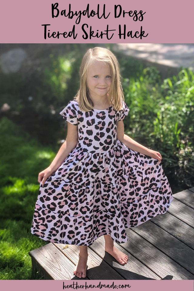 Babydoll Dress Tiered Skirt Hack