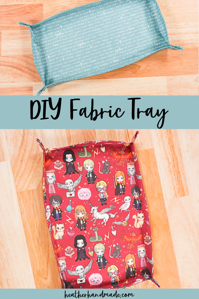 How to Make a DIY Fabric Tray