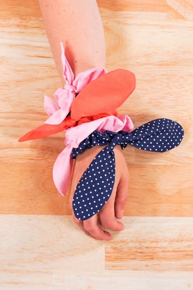 How to Make a Silk Scrunchie