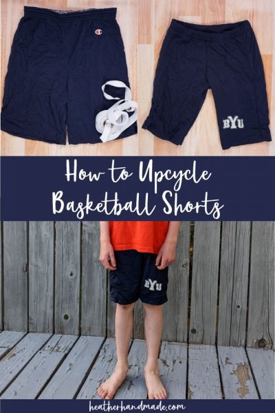 How to Upcycle Basketball Shorts