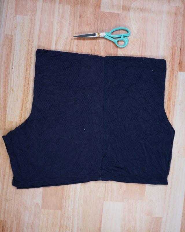 cut waistband off of shorts