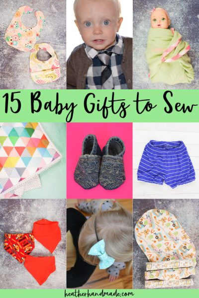 15 Baby Gifts to Sew