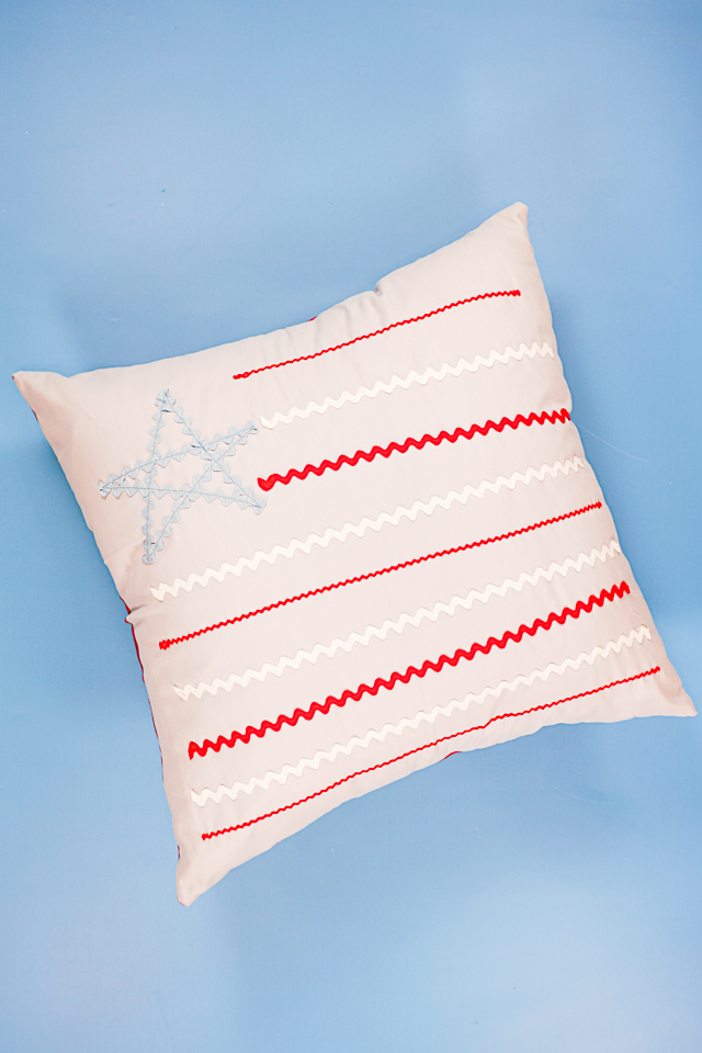 stuff with pillow form