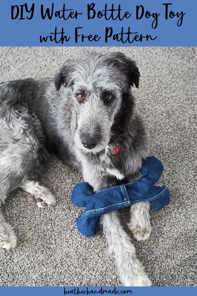 DIY Water Bottle Dog Toy + Free Pattern