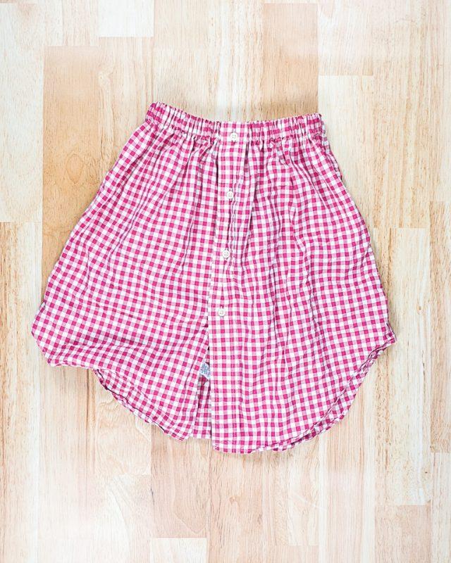 men's shirt to skirt diy sew upcycle