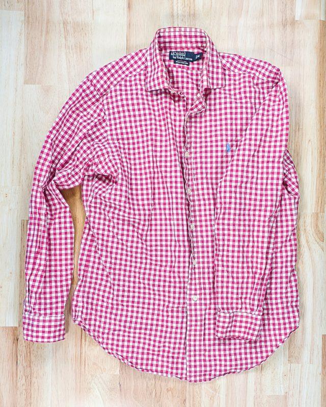 men's shirt flat lay