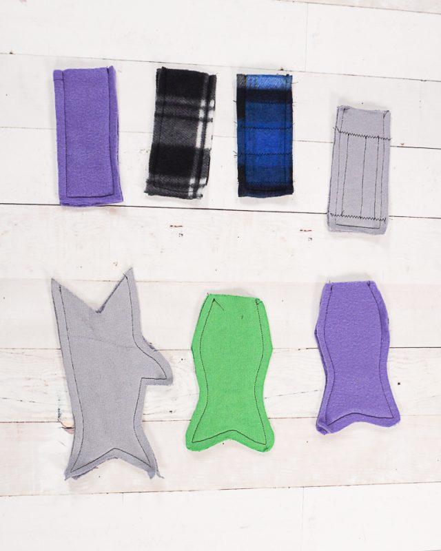 sew around three sides