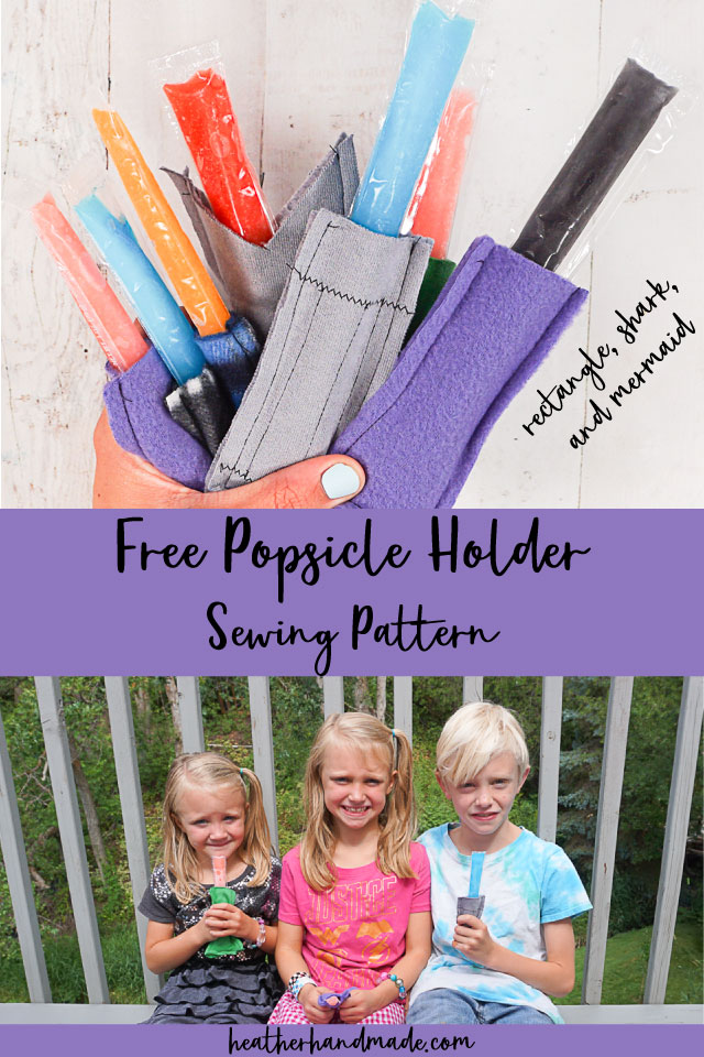 popsicle holder free sewing pattern