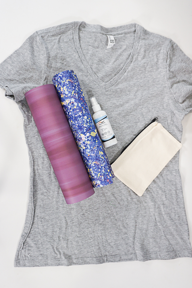 infusible ink and sublimation spray on cotton