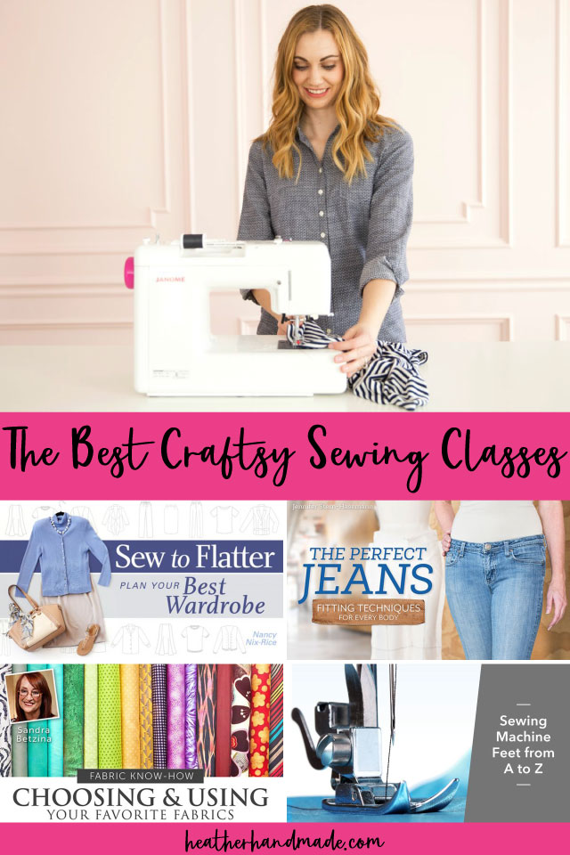 best craftsy sewing classes