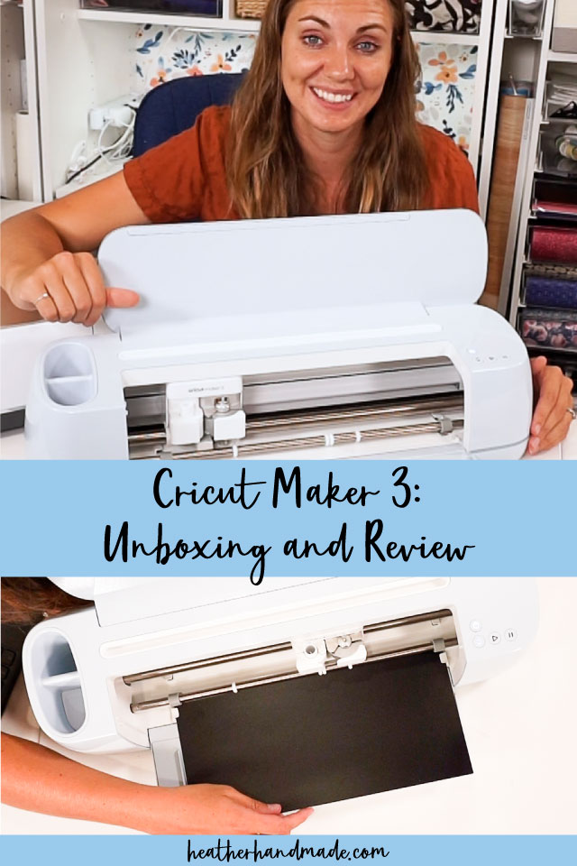 Cricut Maker 3 Unboxing and Review