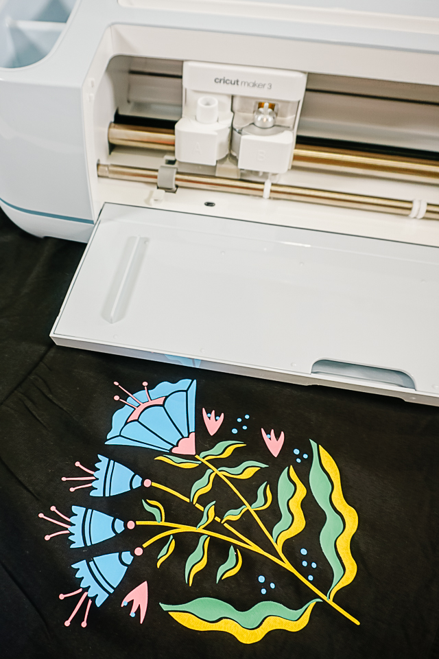 diy faux embroidery with cricut maker 3