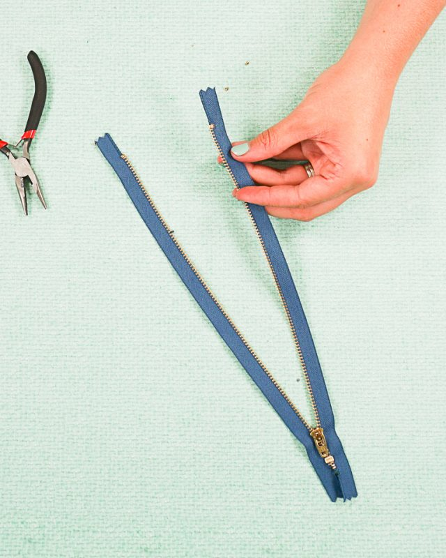 crimp new zipper stop