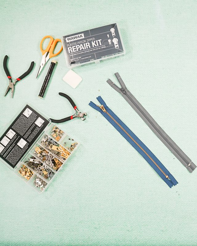 how to fix a zipper supplies