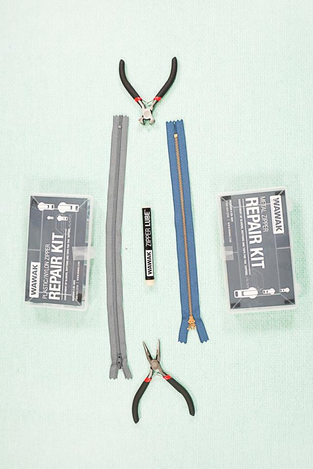 tools to fix a zipper