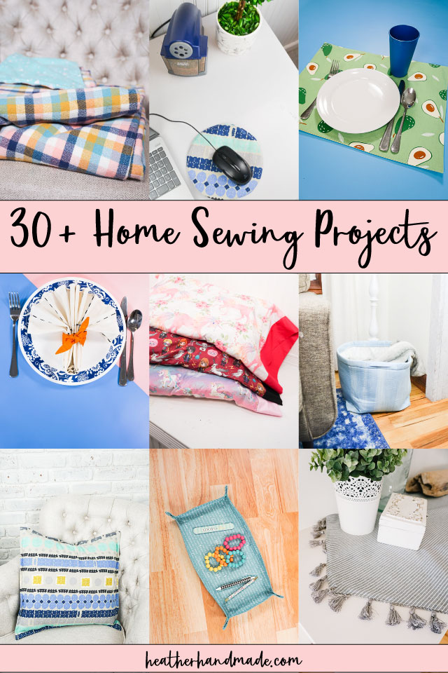 30 Home Sewing Projects