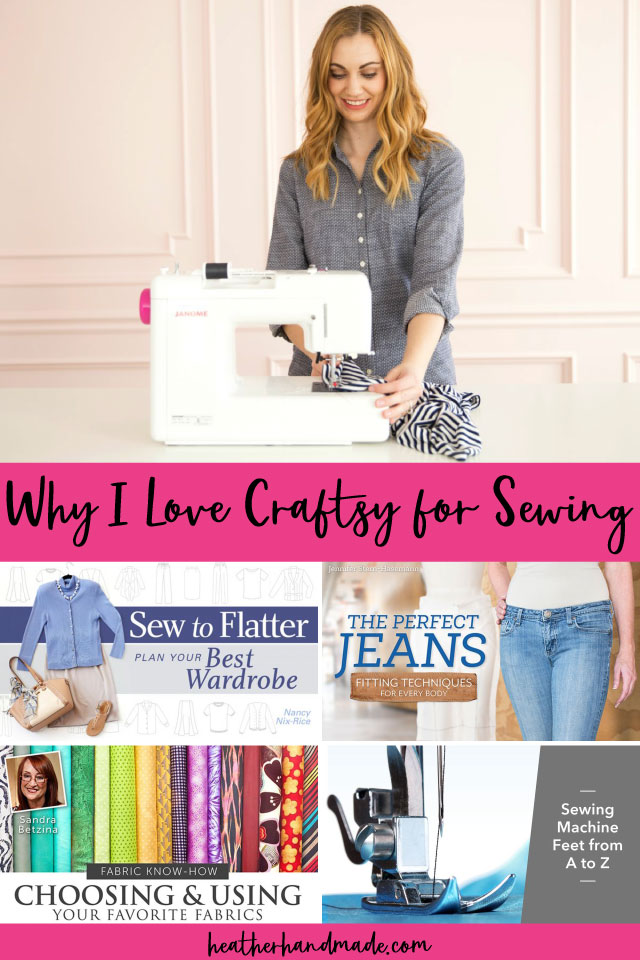 Why I Love Craftsy and the Best Craftsy Sewing Classes