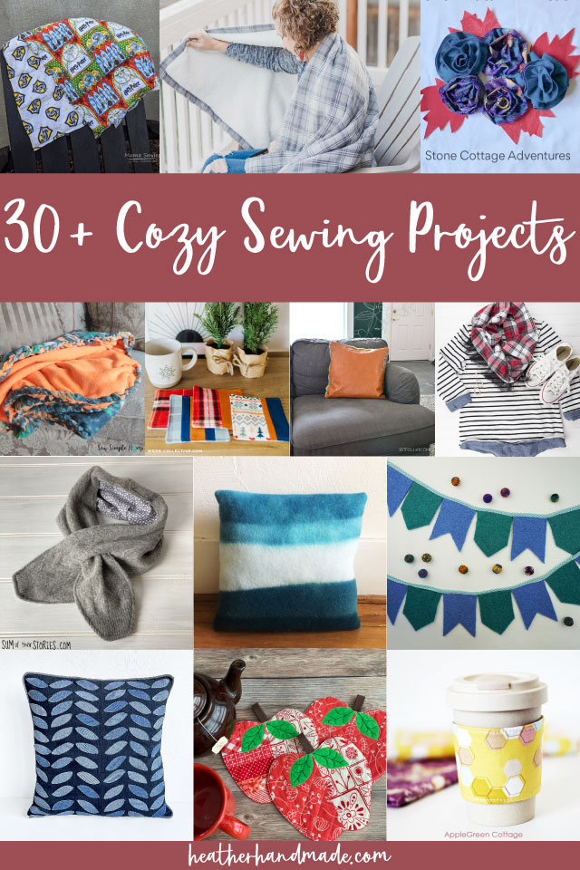 cozy sewing projects