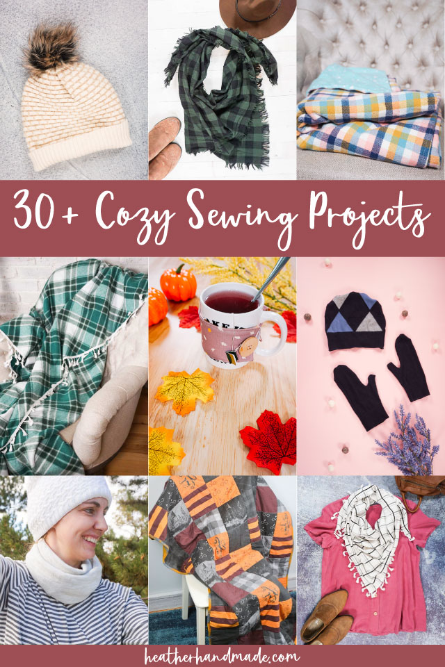 33 Cozy Sewing Projects