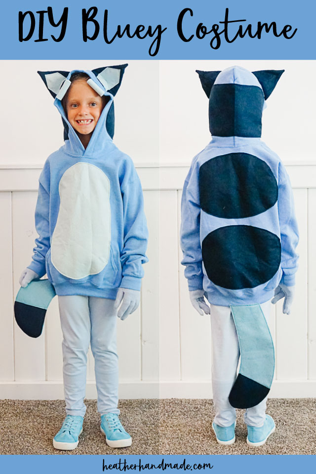 DIY Bluey Costume