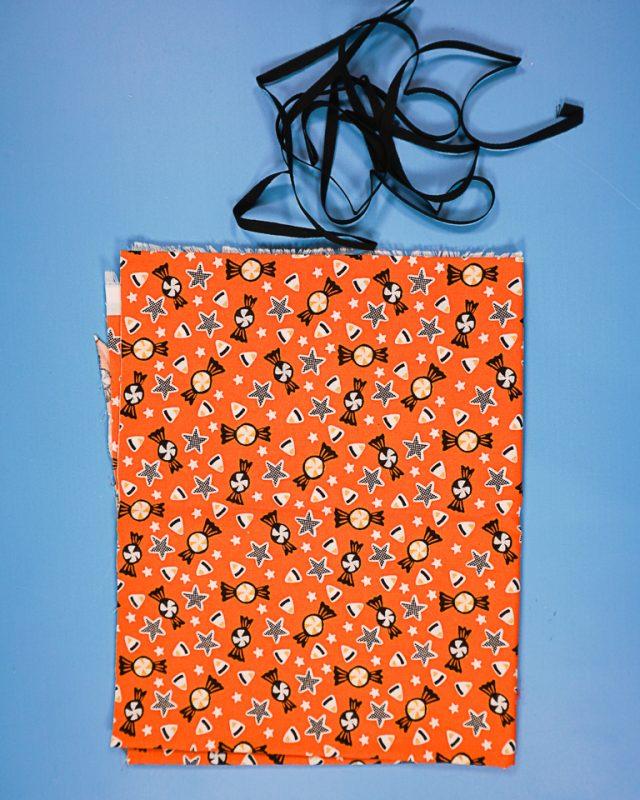 DIY Halloween Treat Bag supplies
