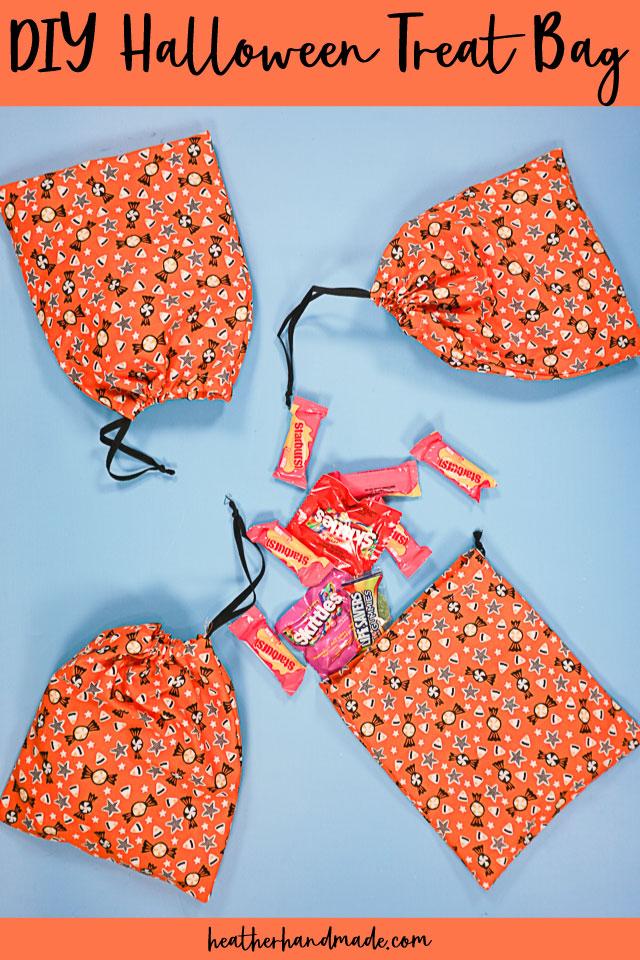 DIY Halloween Treat Bag