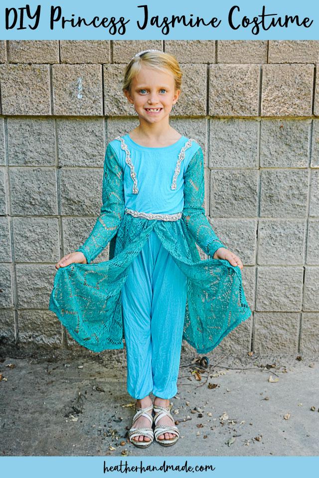 DIY Princess Jasmine Costume