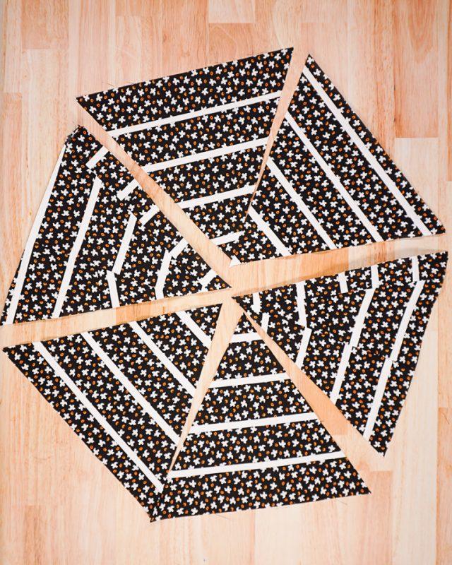 organize all the triangles