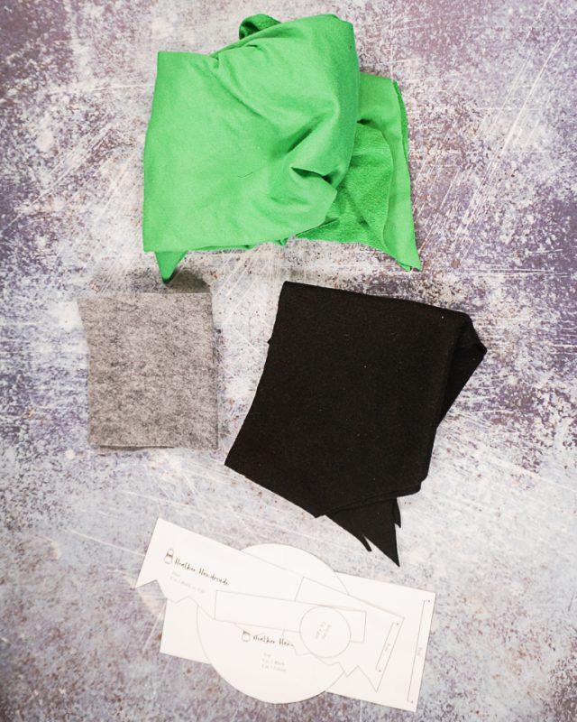 DIY Frankenstein Costume supplies